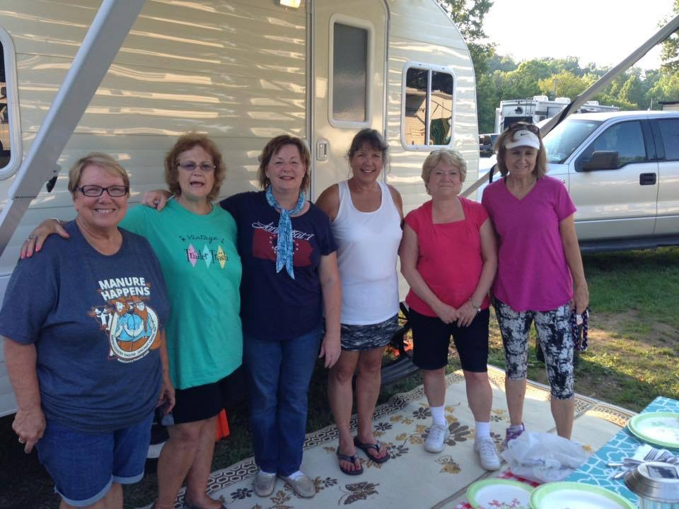 The icing on the cake was that we all stayed the weekend at a nearby campground! Thanks Lynn!