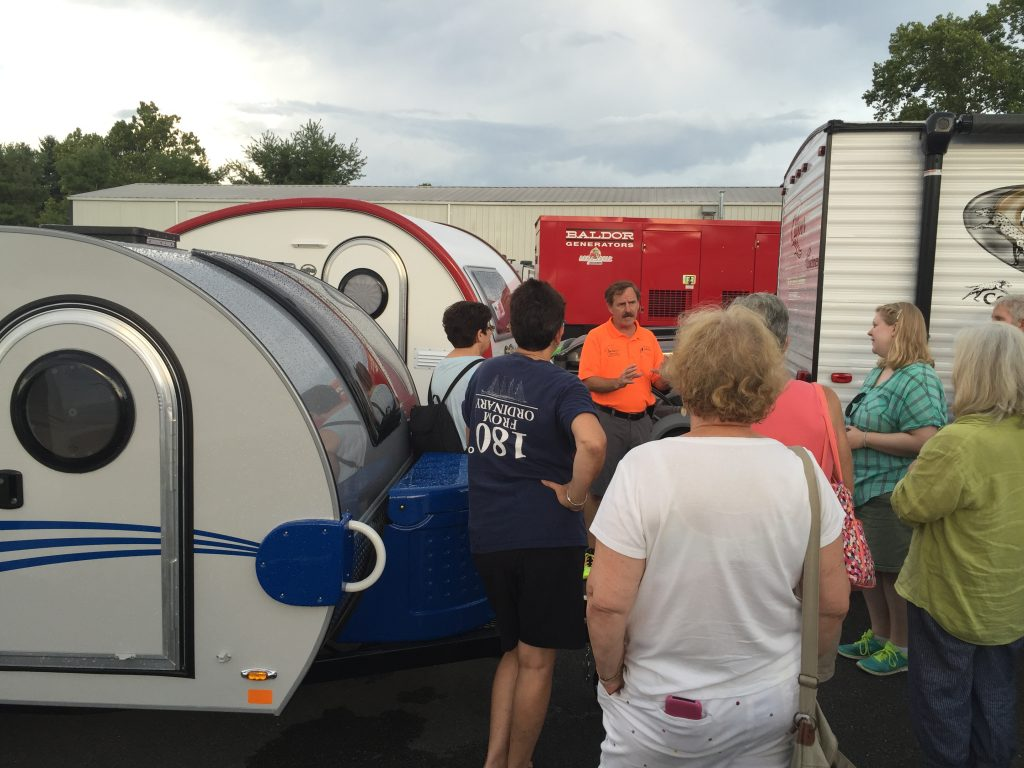 Camper College events are a great way for women to get their questions answered as well as meet likeminded women to travel with.
