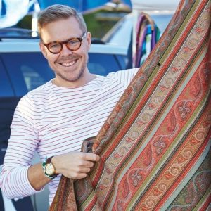 Eddie Ross, East Coast Style Editor for Better Homes and Gardens will be headlining the event and signing his new book, Modern Mix.