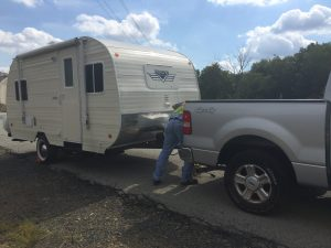 250 miles from home my truck broke down and I needed to have it towed to