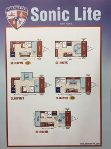 The SL169BH by Venture RV was another show favorite.
