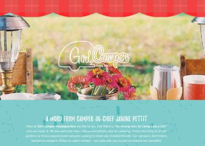 "Big ""Girl Camper"" News"