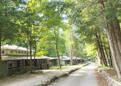 Historic Elkmont in Great Smoky Mountains National Park