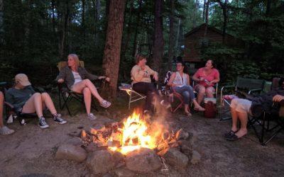 Kickoff to Camping