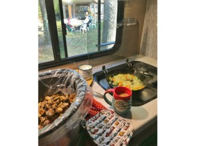 Camper Cooking 101: The r-pod 196 Kitchen!