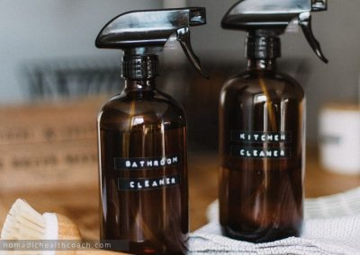 Non-toxic Cleaning For Your Camper.