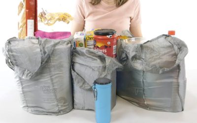 Camco's Grab-A-Bag Shopping Bag Canister
