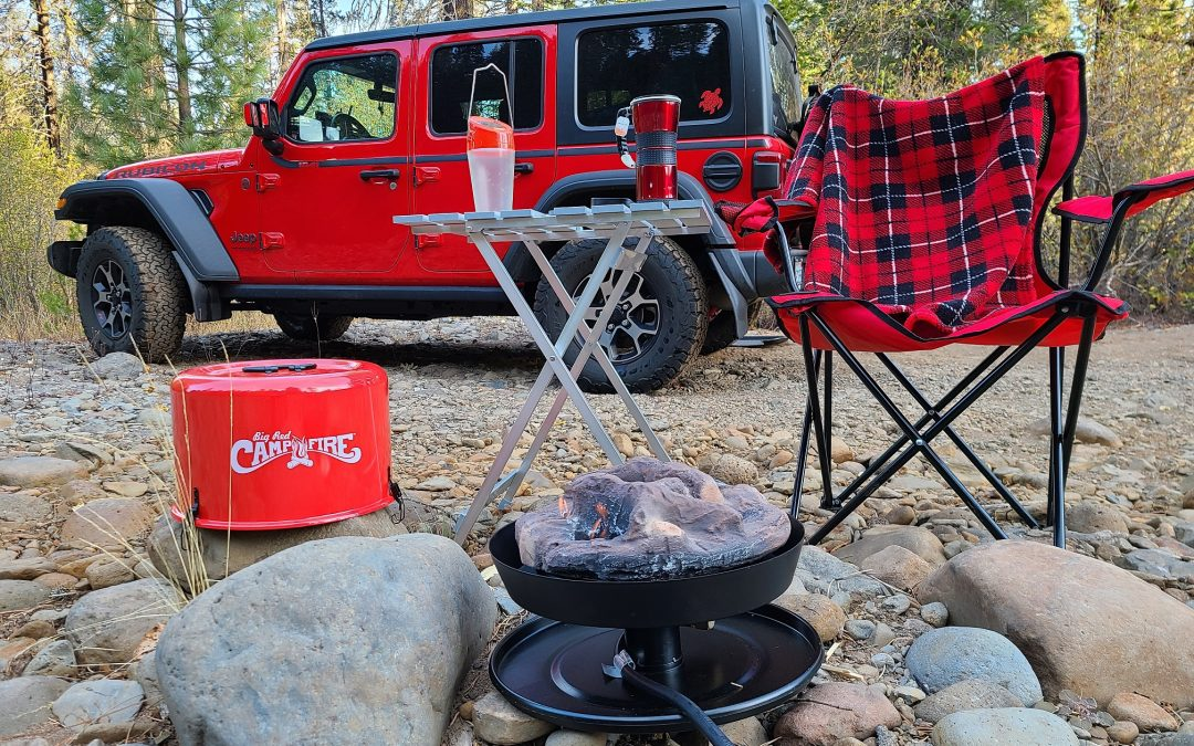 Be Safe – Stay Warm – Big Red Campfire