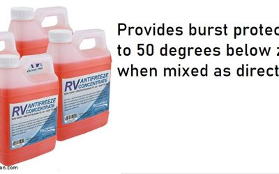 What You Need to Know About RV Antifreeze