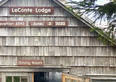 LeConte Lodge in Great Smokey Mountain National Park
