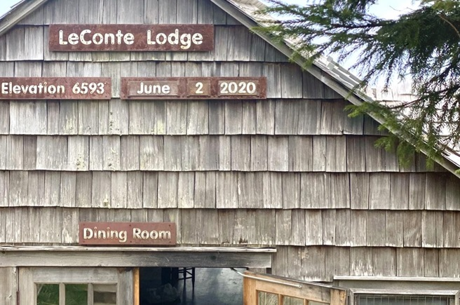 LeConte Lodge in Great Smoky Mountains National Park