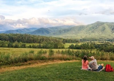 Cades Cove in Tennessee's Great Smoky Mountains