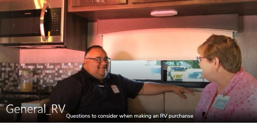 First Time RV Buyer Questions