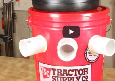 DIY AC Using 5 Gallon Bucket – Could Use Rechargeable Fan
