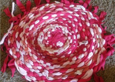 Rug and Basket Weaving with a Hoola Hoop