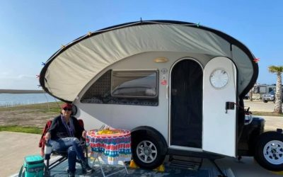 Camp on the Beach in Texas: Blue Water RV Resort