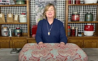 Recovering Your RV Cushions with Janine Pettit