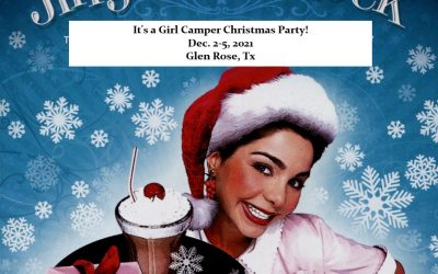 Jingle Bell Rock Girl Camper Christmas Party